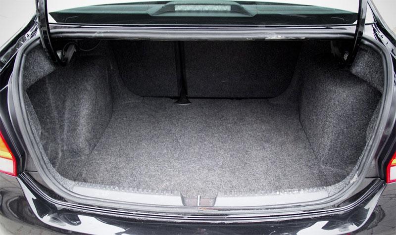 Багажник VW Polo Sedan